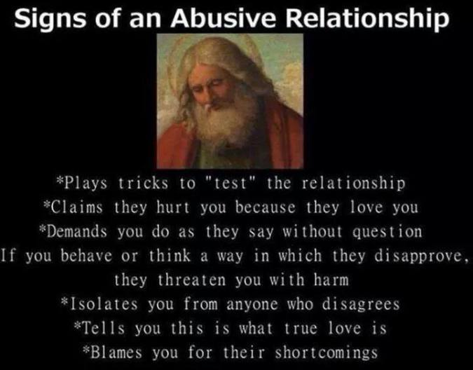 gods abusive relationship